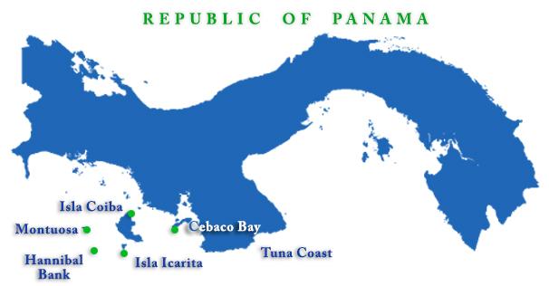 cebaco-sportfishing-club-panama-location